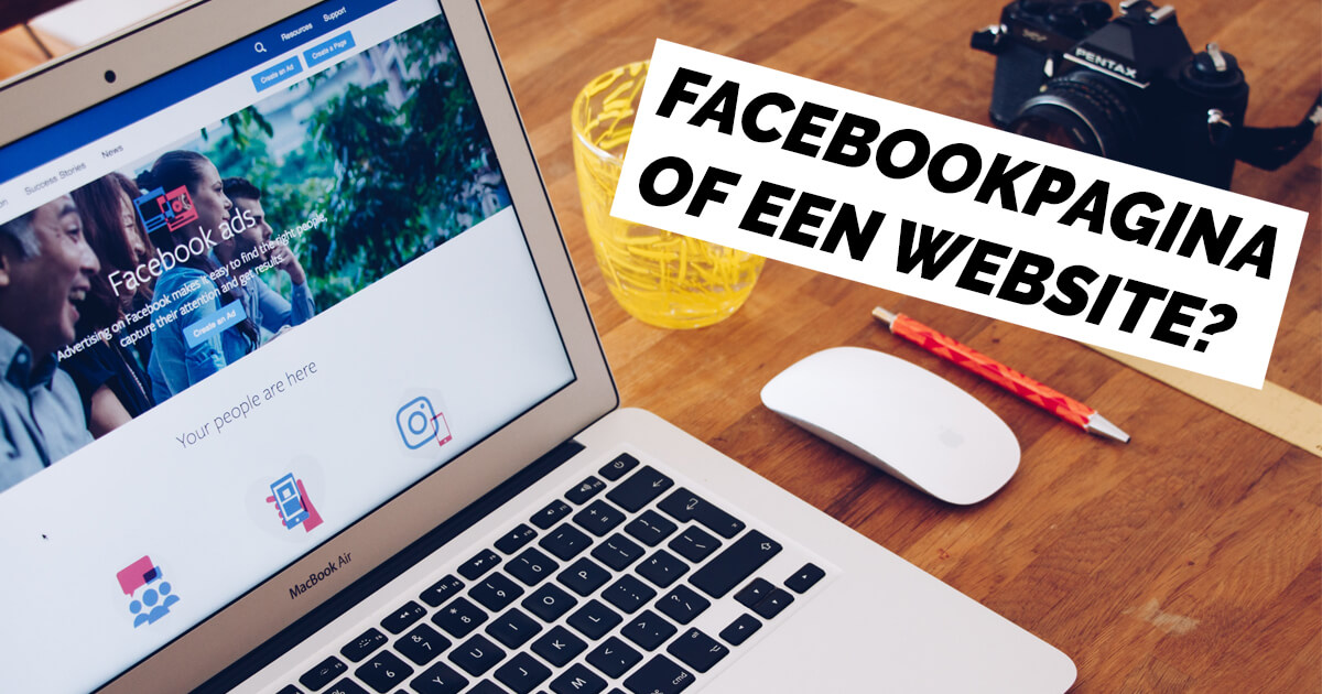 Is een website vervangbaar door een Facebookpagina - Web Wolves